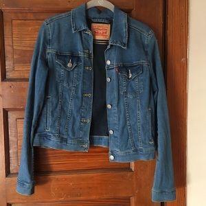 Levi's blue denim jacket